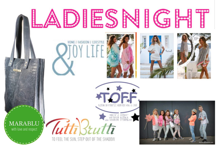 ladiesnight 24 mei 2017 met &joy en Toff kindekleding